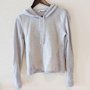Athleta hoodies sweater grey women medium